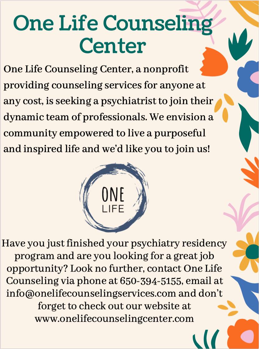 Psychiatrist Job