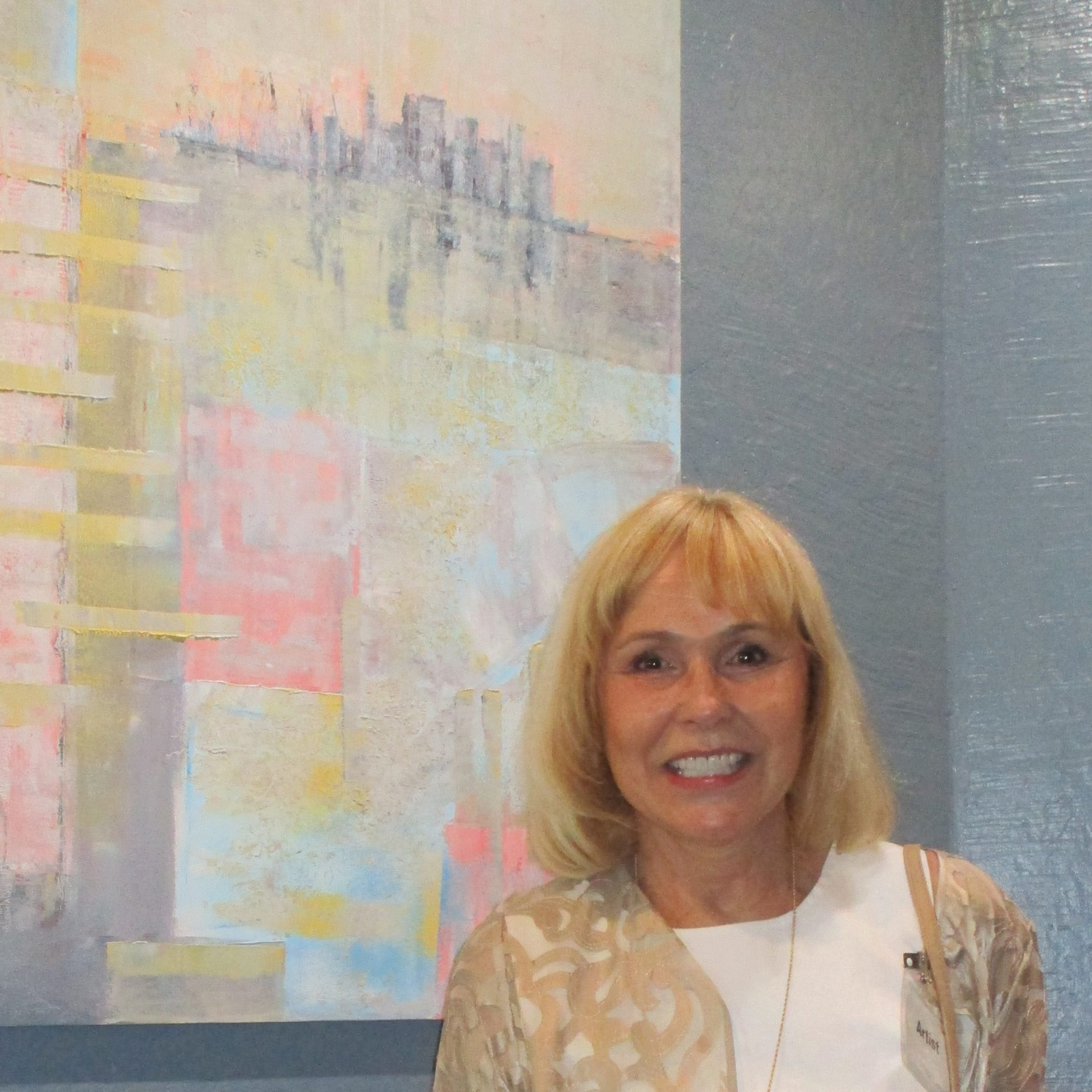 Photo with paintings - Zdenka Bleile